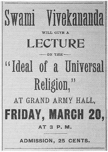 Swami Vivekananda Lecture