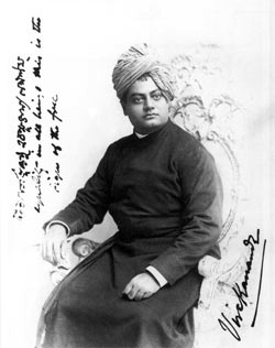 Swami Vivekananda in Chicago